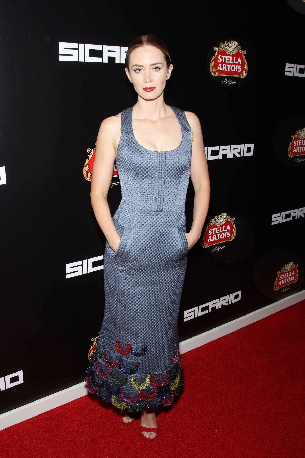 EMILY BLUNT at Sicario Premiere in New York 09/14/2015 ... Emily Blunt