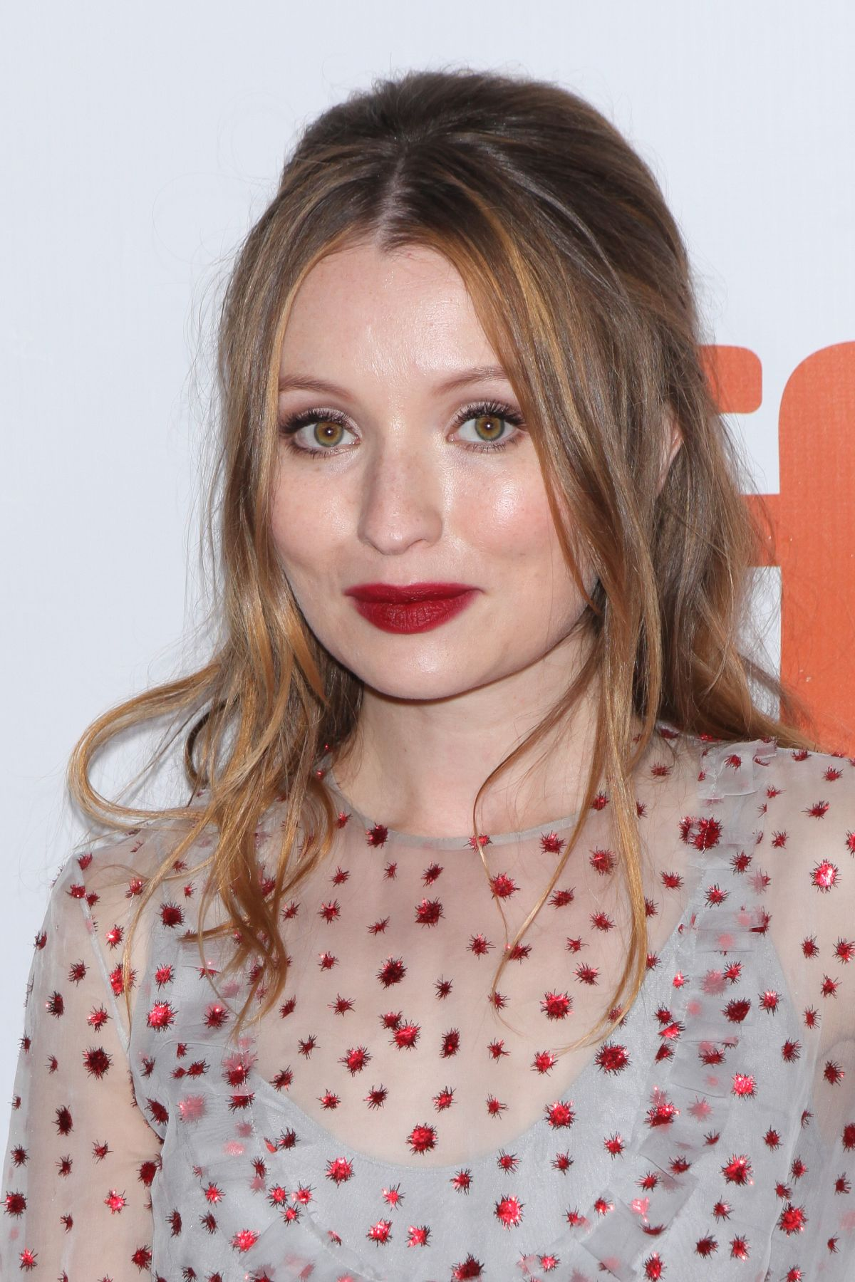 Emily Browning At Legend Premiere At 2015 Toronto