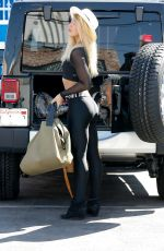 EMMA SLATER Arrives at DWTS Rehersal in Hollywood 09/24/2015