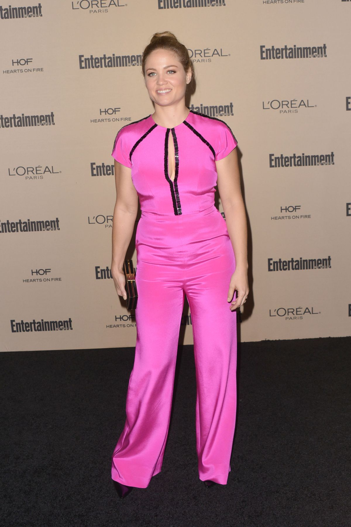 ERIKA CHRISTENSEN at 2015 Entertainment Weekly Pre-emmy Party in West Hollywood 09/18/2015