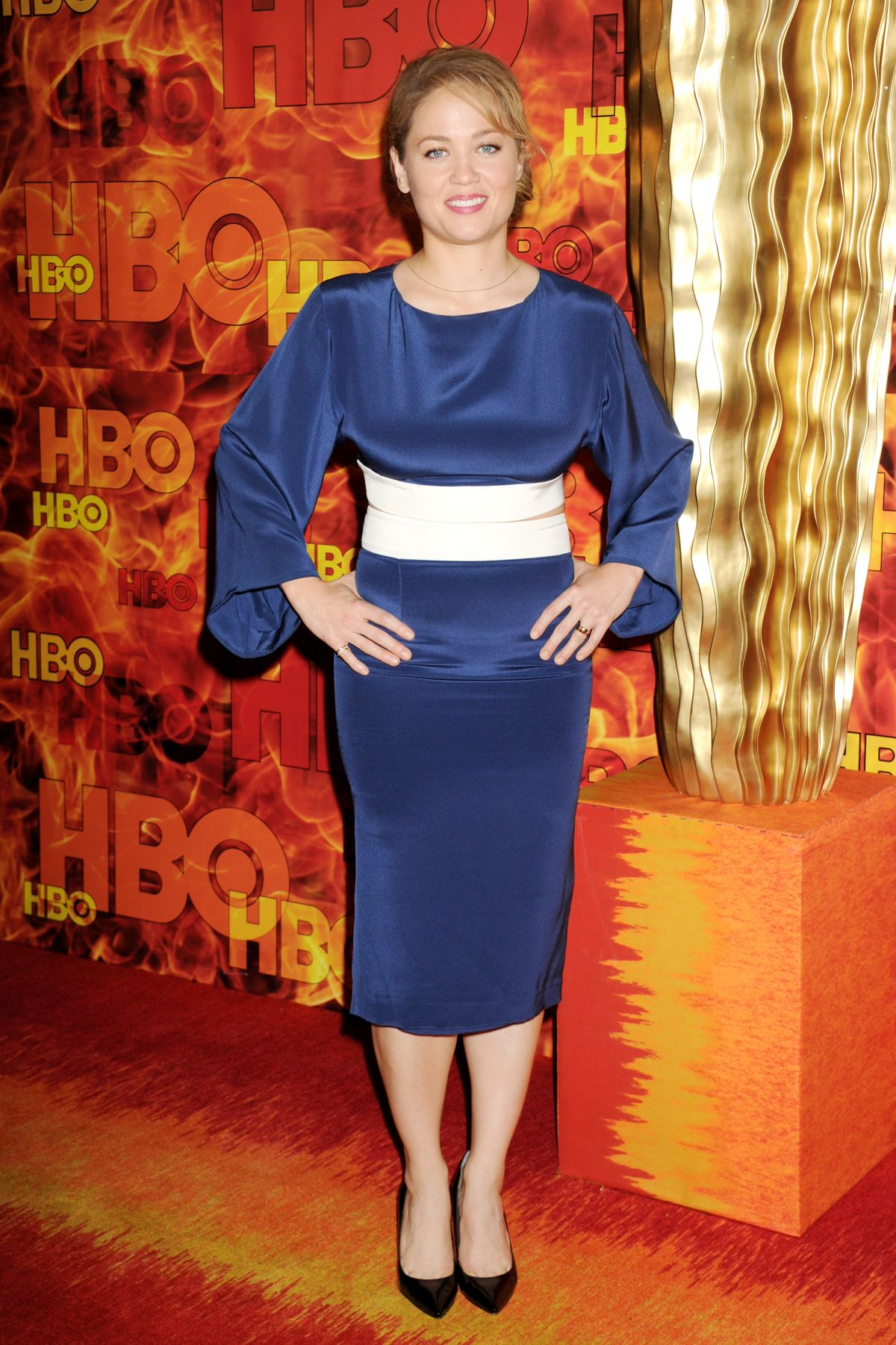 ERIKA CHRISTENSEN at HBO's Official 2015 Emmy After-party in Los Angeles 09/20/2015