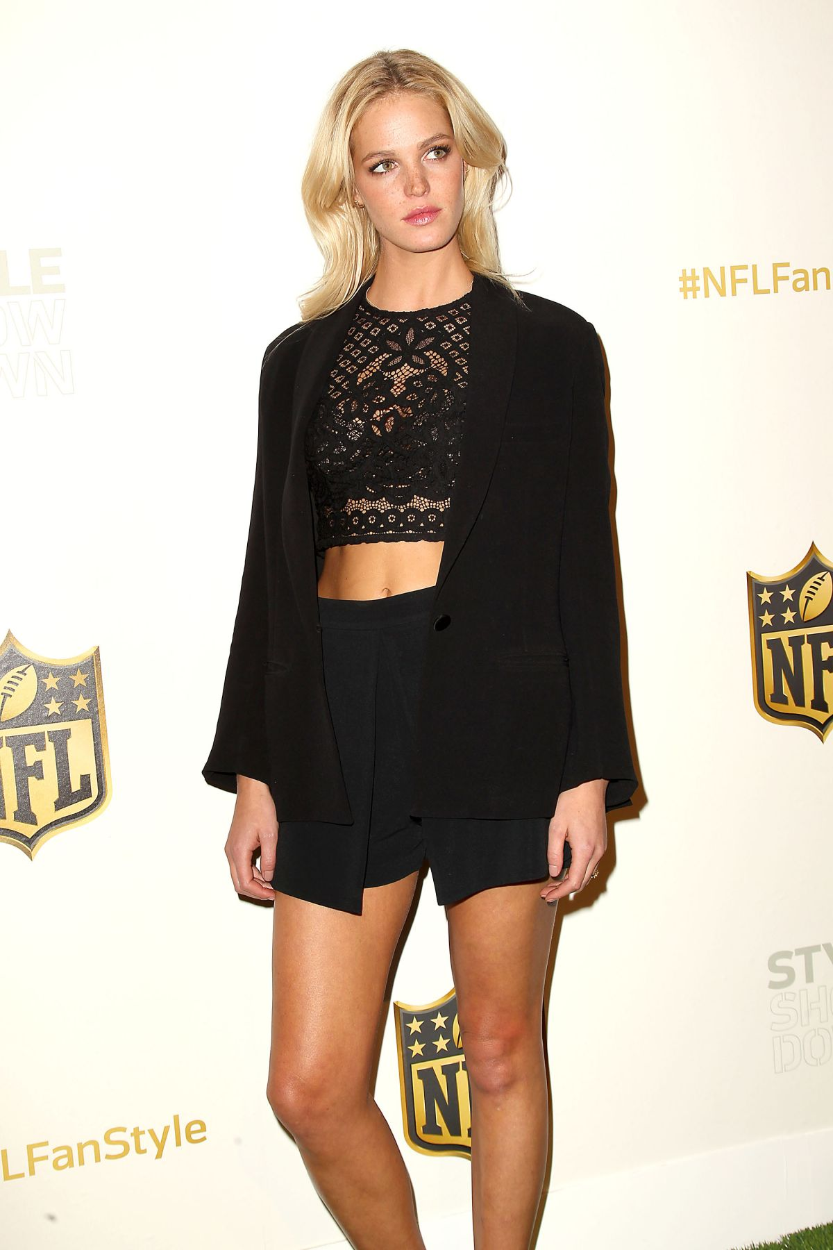 ERIN HEATHERTON at NFL Women's Style Showdown in New York 09/24/2015
