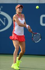 EUGENIE BOUCHARD at 2015US Open in New York 08/31/2015