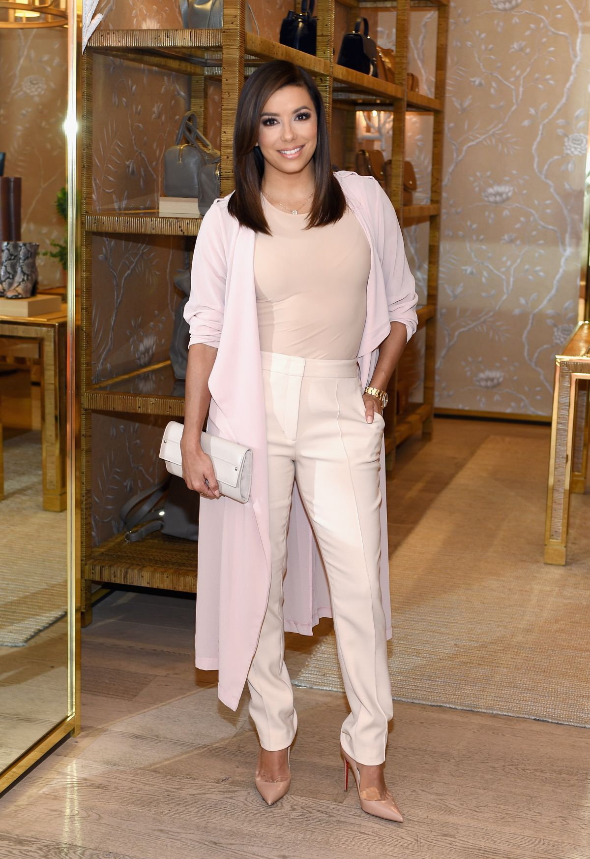EVA LONGORIA at Glamour Women to Watch Lunch at Tory Burch 09/18/2015