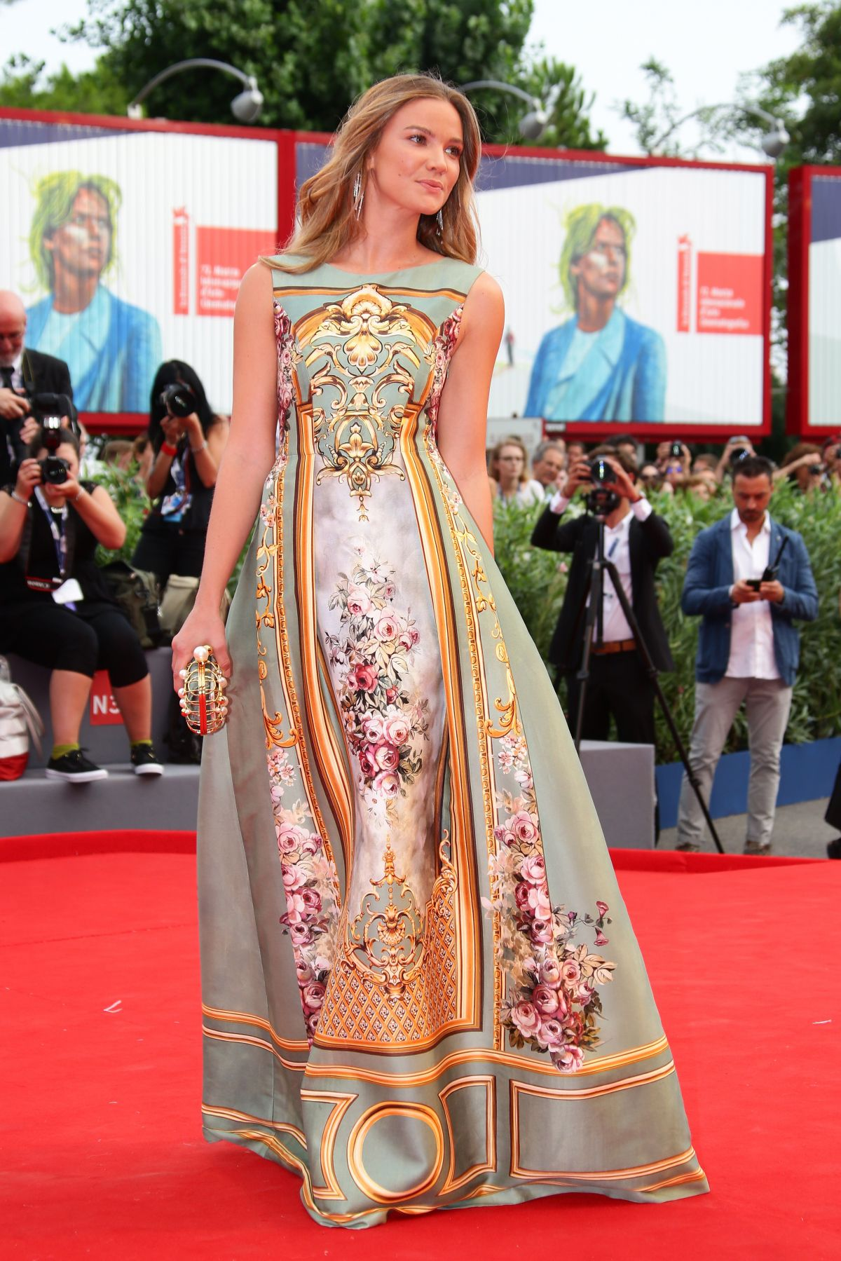 FIAMMETTA CICOGNA at Everest Premiere and 72nd Venice Film Festival Opening Ceremony