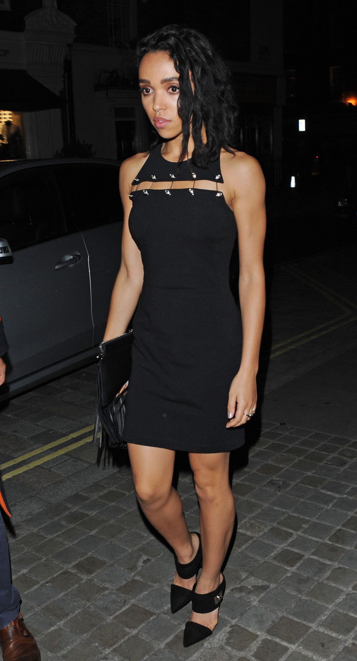 FKA TWIGS at Chiltern Firehouse in London 09/19/2015