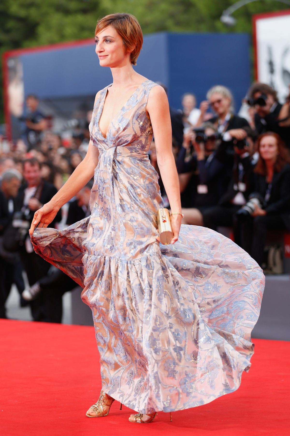 FRANCESCA INAUDI at Black Mass Premiere at 72nd Venice Film Festival