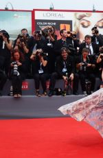 FRANCESCA INAUDI at Black Mass Premiere at 72nd Venice Film Festival