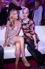 FRANZISKA KNUPPE and PETRA NEMCOVA at The Icons & Idols No. 3 Event in Duesseldorf 09/24/2015