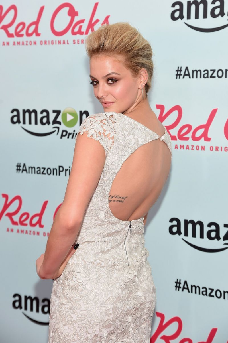 GAGE GOLIGHTLY at Red Oaks Premiere in New York 09/29/2015