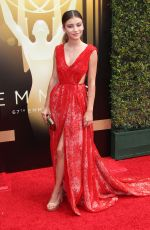 GENEVIEVE HANNELIUS at 2015 Creative Arts Emmy Awards in Los Angeles 09/12/2015