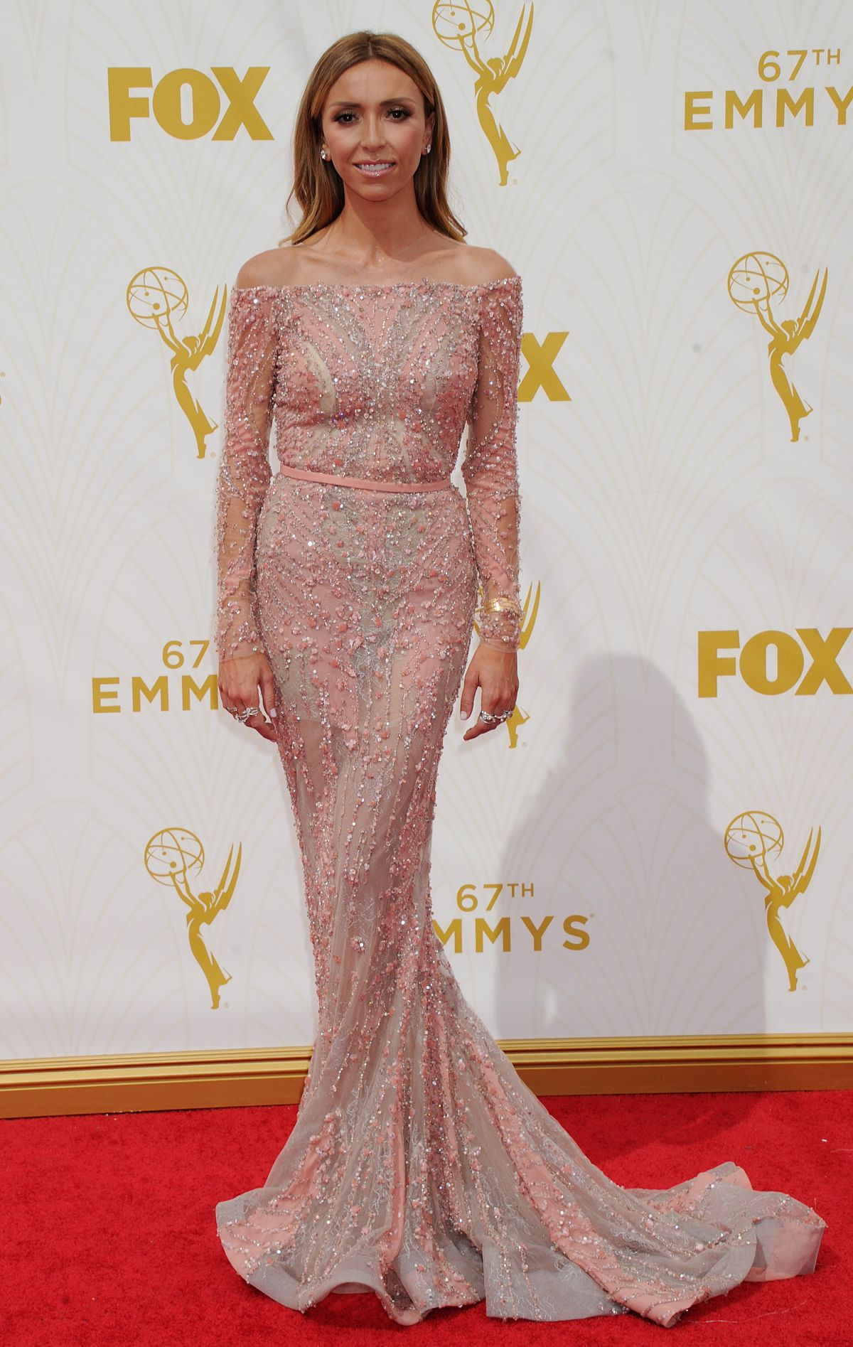 GIULIANA RANCIC at 2015 Emmy Awards in Los Angeles 09/20/2015