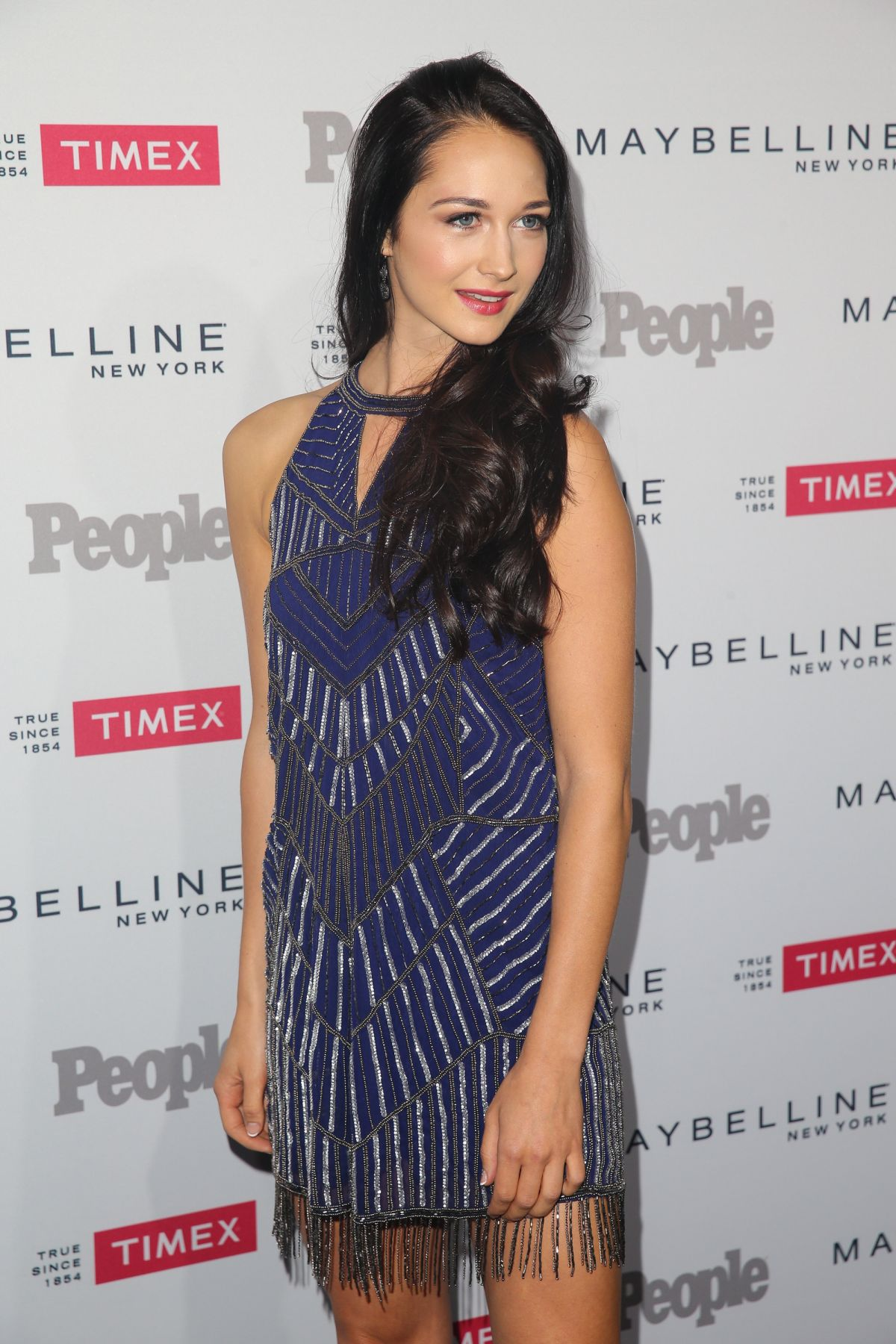 HANNAH JAMES at People's To Watch in West Hollywood 09/16/2015