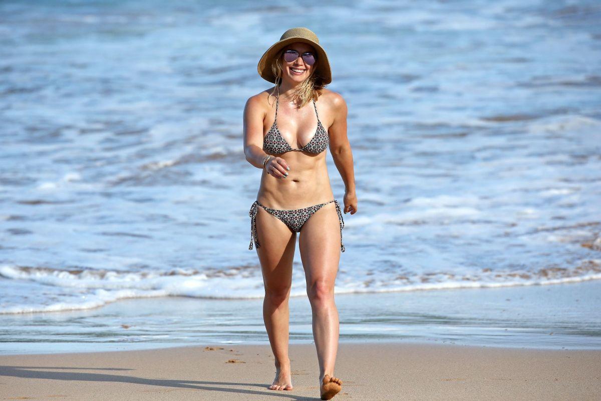 Hilary duff not in a bikini
