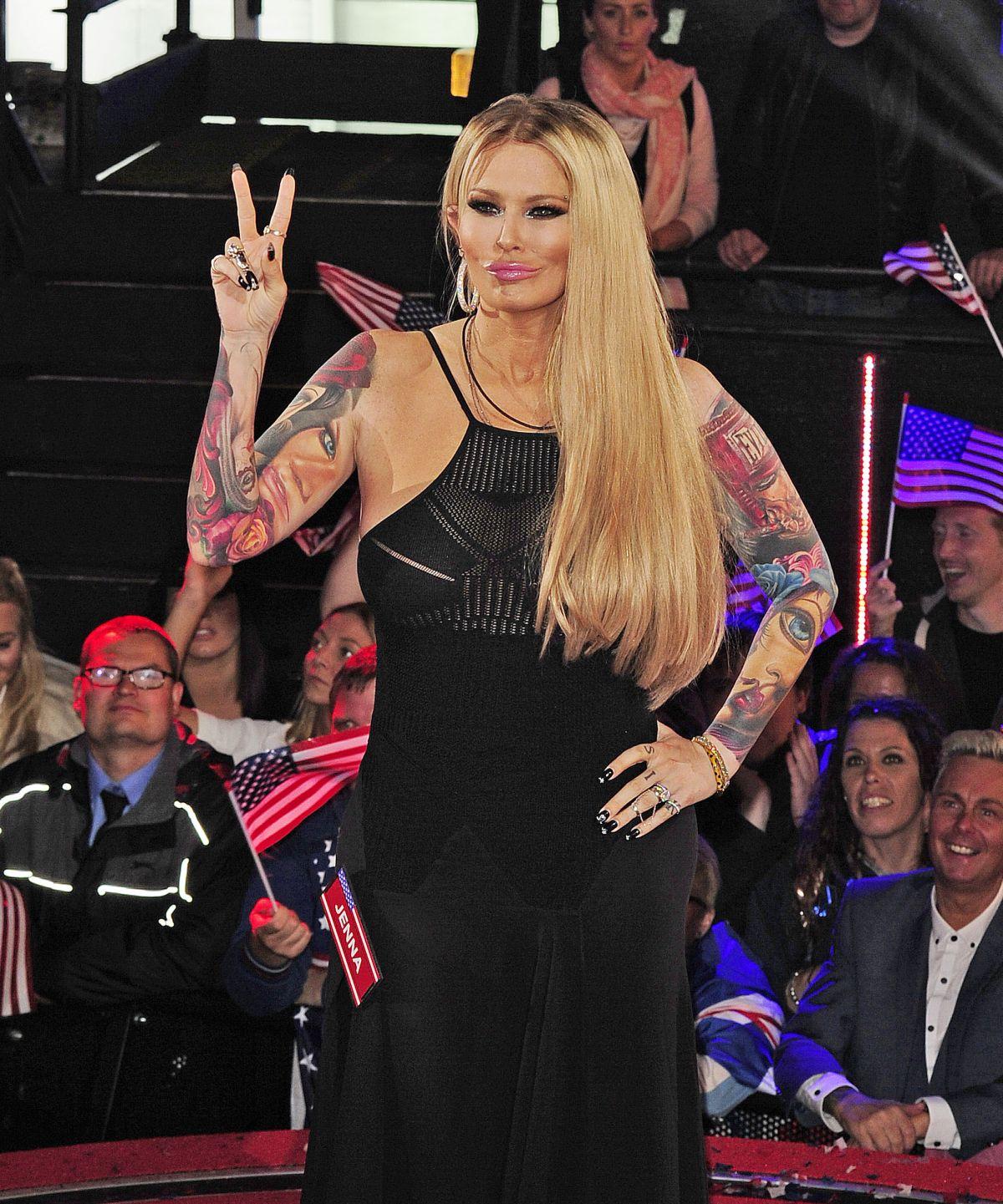 JENNA JEMSON Entering at UK Big Brother