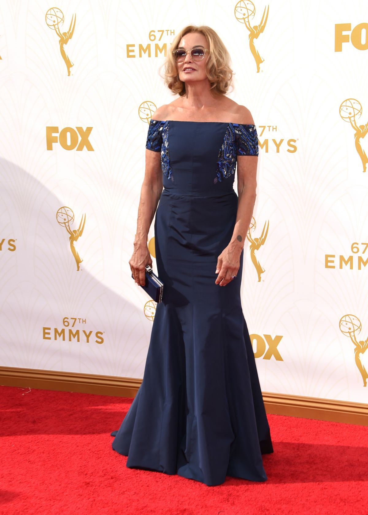 JESSICA LANGE at 2015 Emmy Awards in Los Angeles 09/20/2015