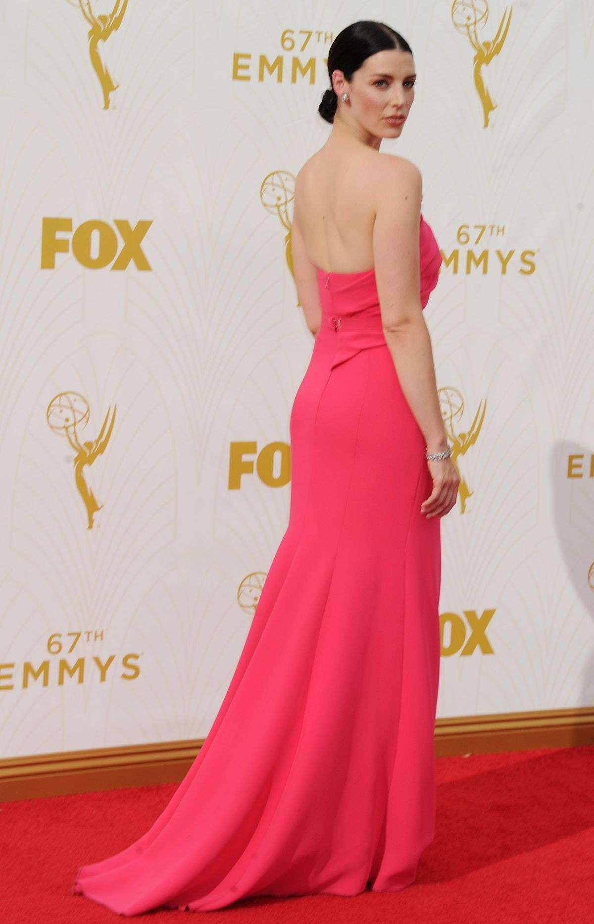 JESSICA PARE at 2015 Emmy Awards in Los Angeles 09/20/2015