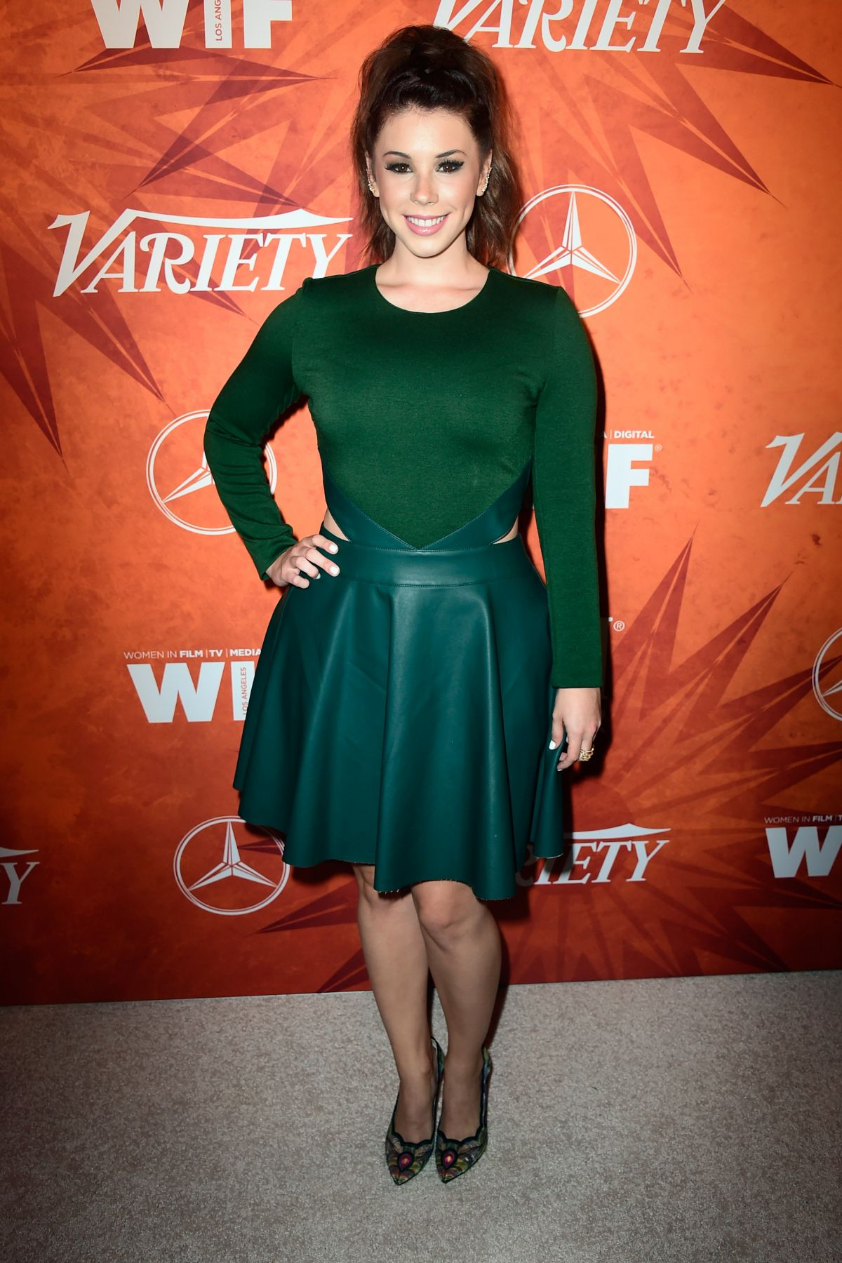 JILLIAN ROSE REED at Variety and Women in Film Annual Pre ...