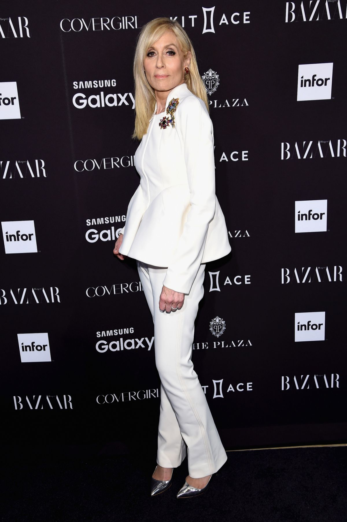 JUDITH LIGHT at 2015 Harper's Bazaar Icons Event in New York 09/16/2015