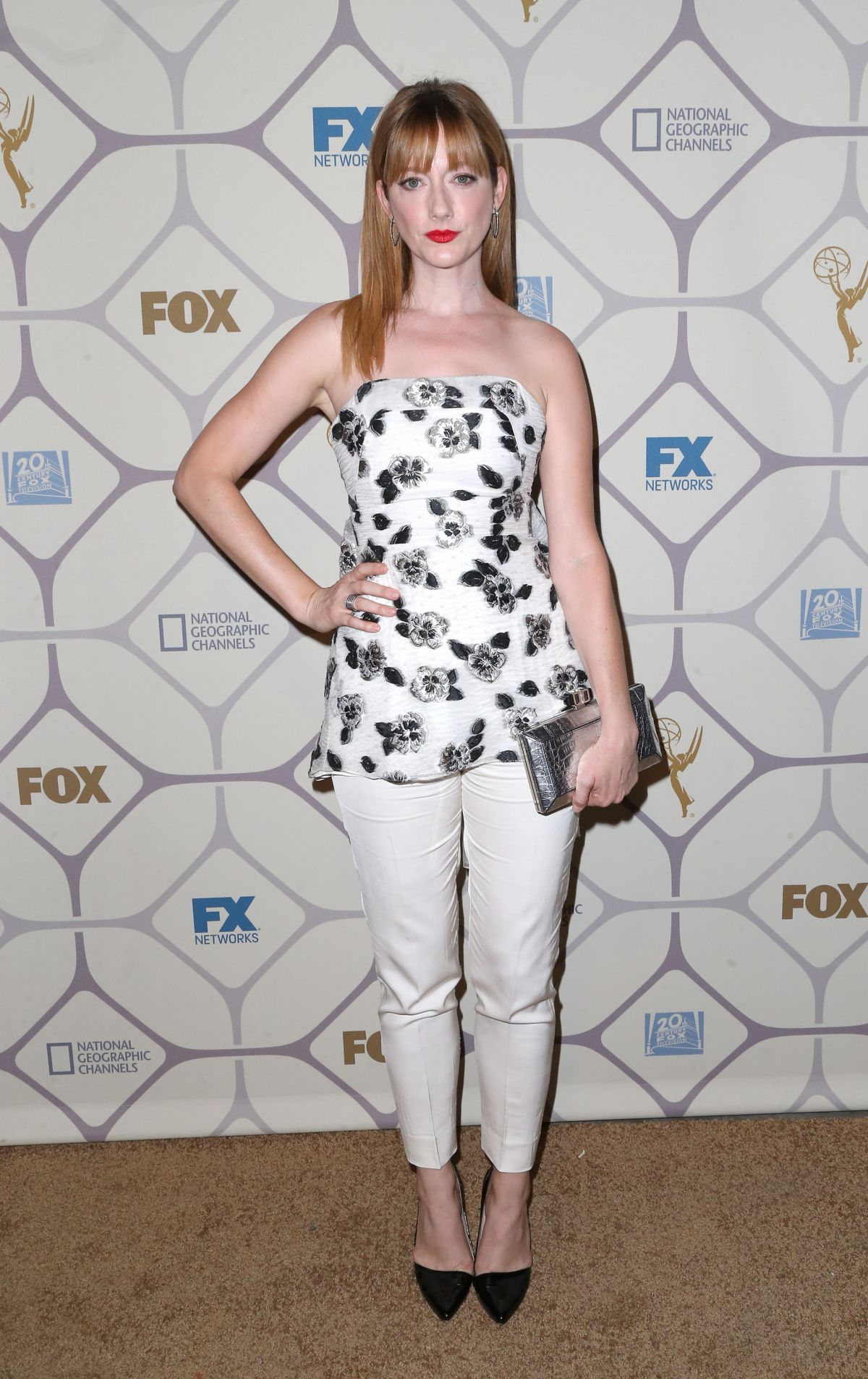 JUDY GREER at Fox Emmy 2015 After-party in Los Angeles 09/20/2015