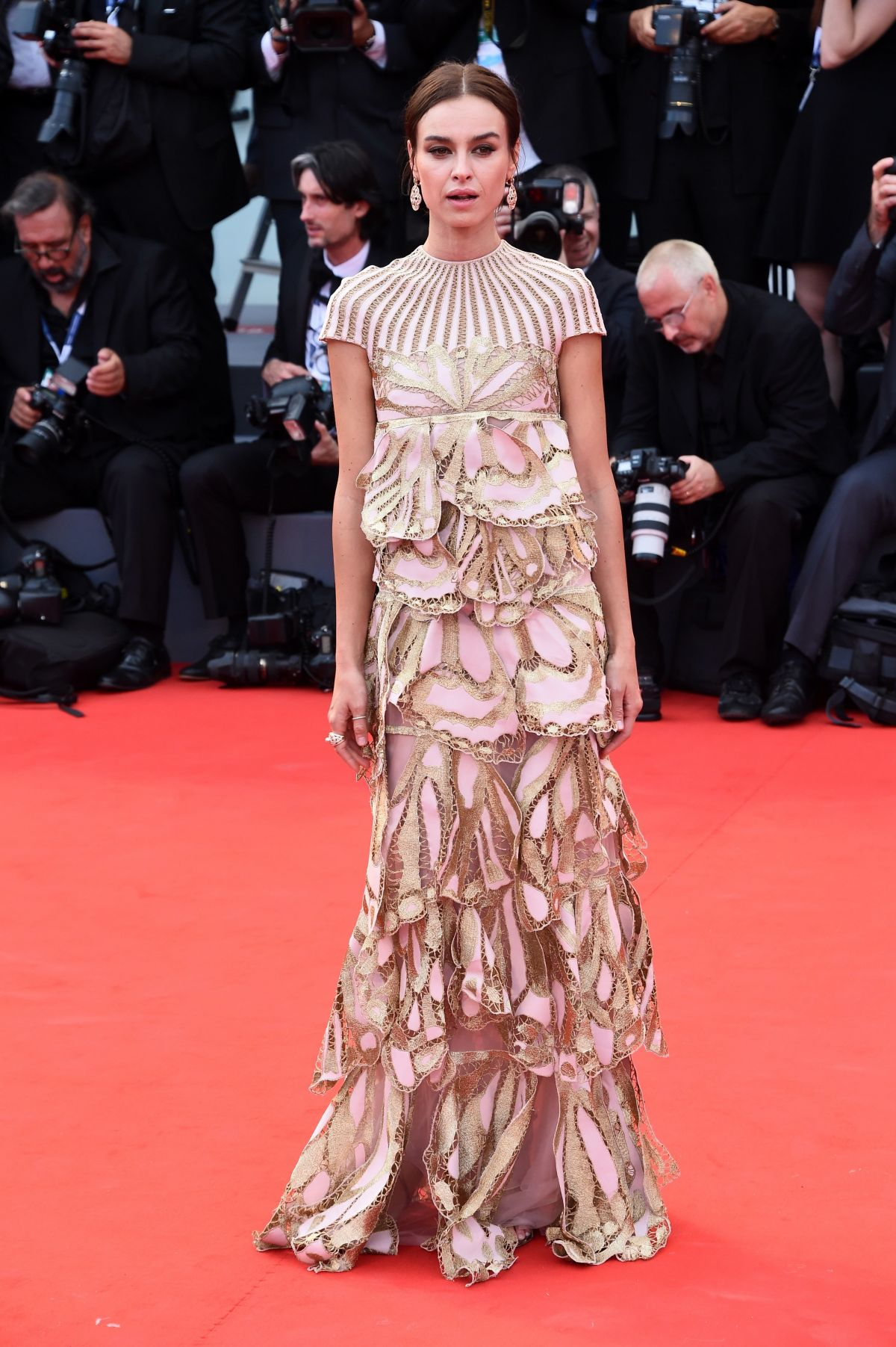 KASIA SMUTNIAK at Everest Premiere and 72nd Venice Film Festival Opening Ceremony 09/02/2015