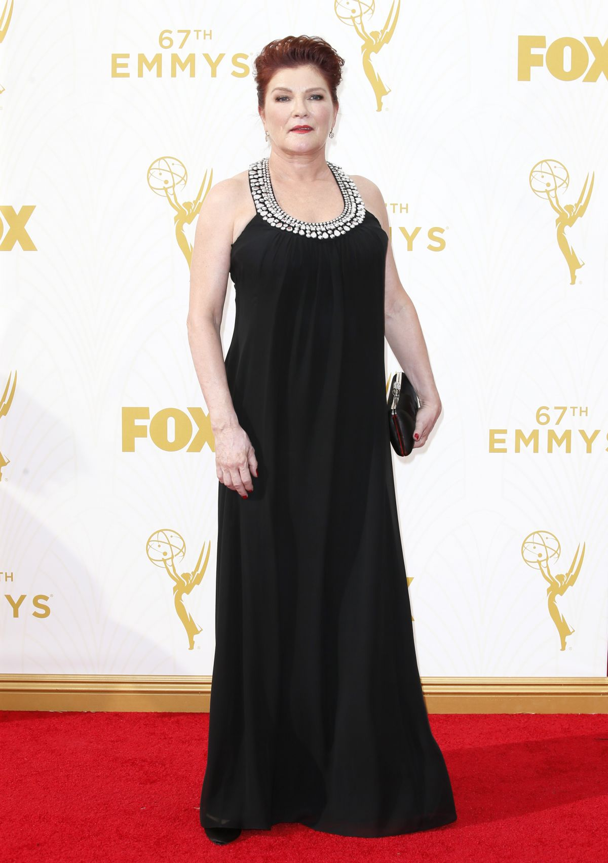 KATE MULGREW at 2015 Emmy Awards in Los Angeles 09/20/2015