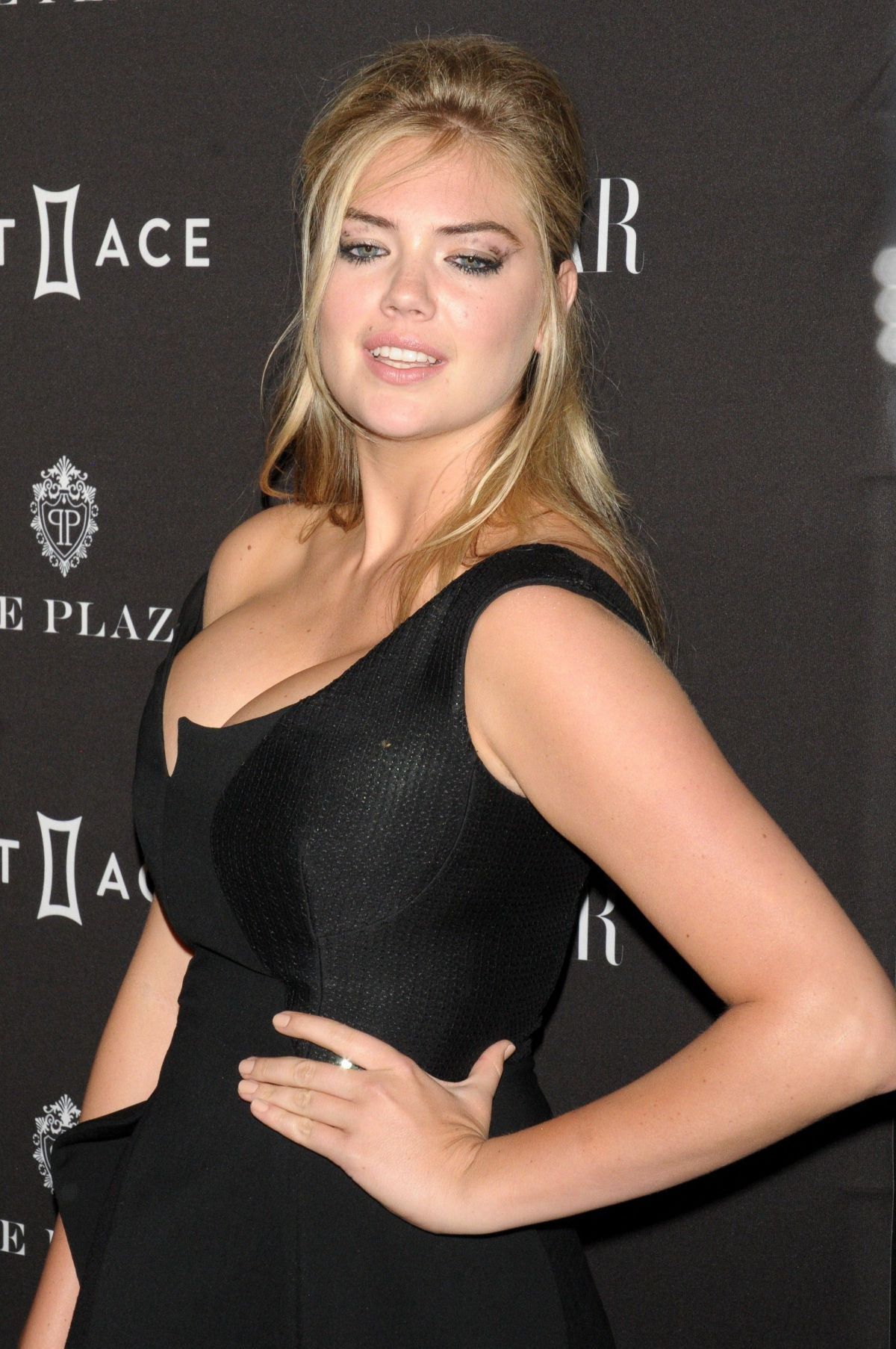 kate upton at 2015 harper�s bazaar icons event in new york