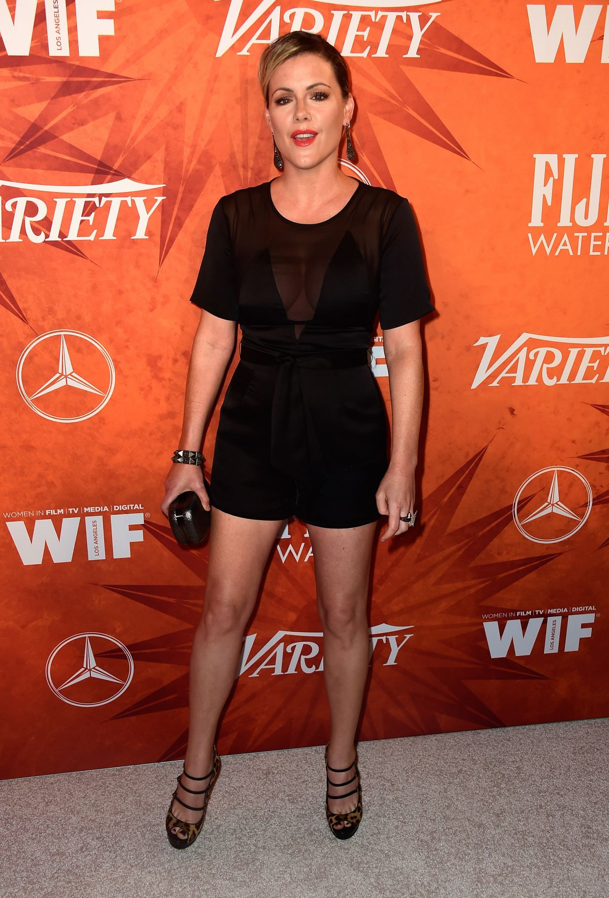 KATHLEEN ROBERTSON at Variety and Women in Film Annual Pre-emmy Celebration in West Hollywood 09/18/20