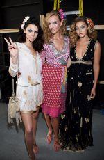 KENDALL JENNER at Diane Von Furstenberg Fashion Show in New York 09/13/2015