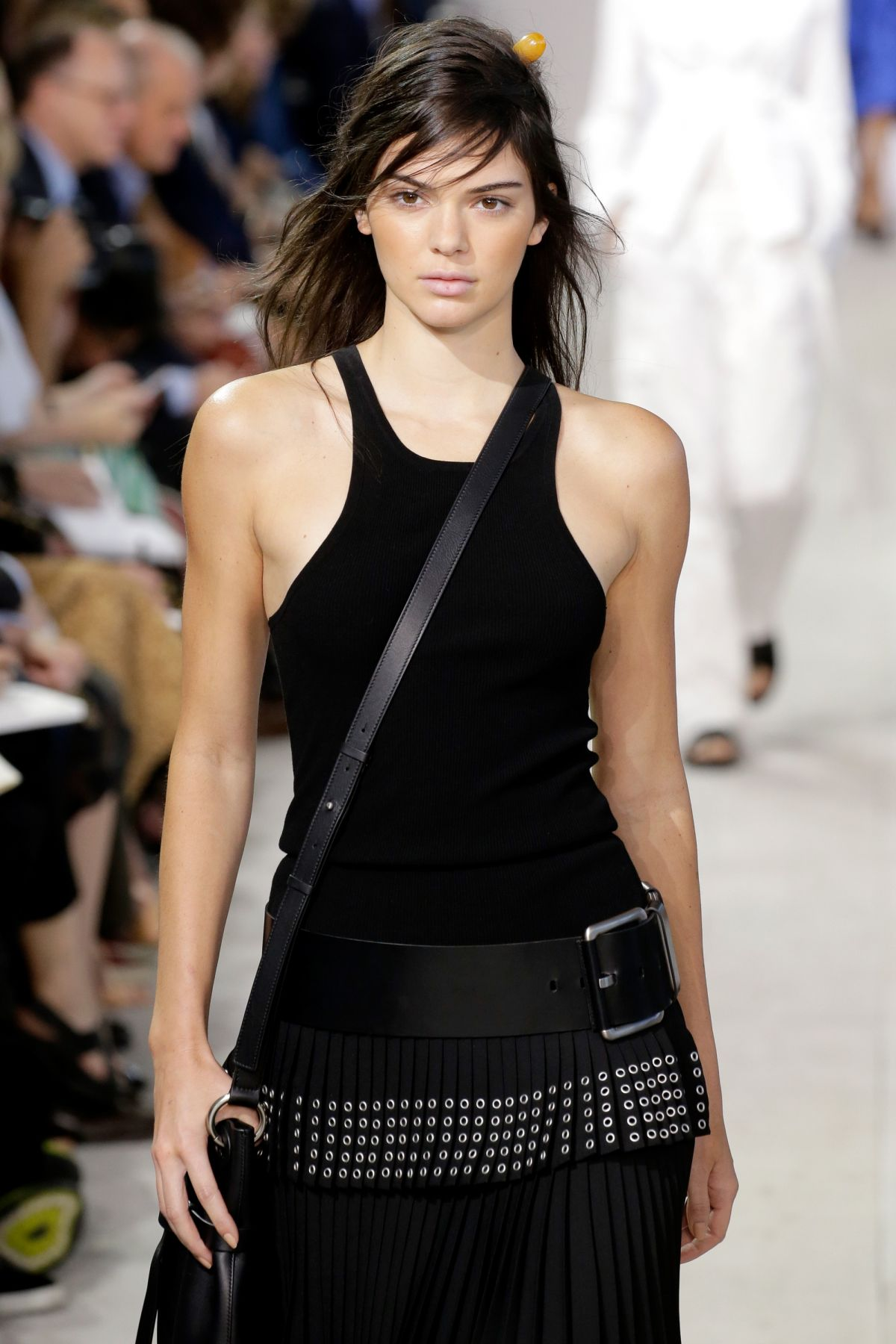 Kendall Jenner At Mchael Kors Fashion Show At New York Fashion Week 09 16 2015 Hawtcelebs