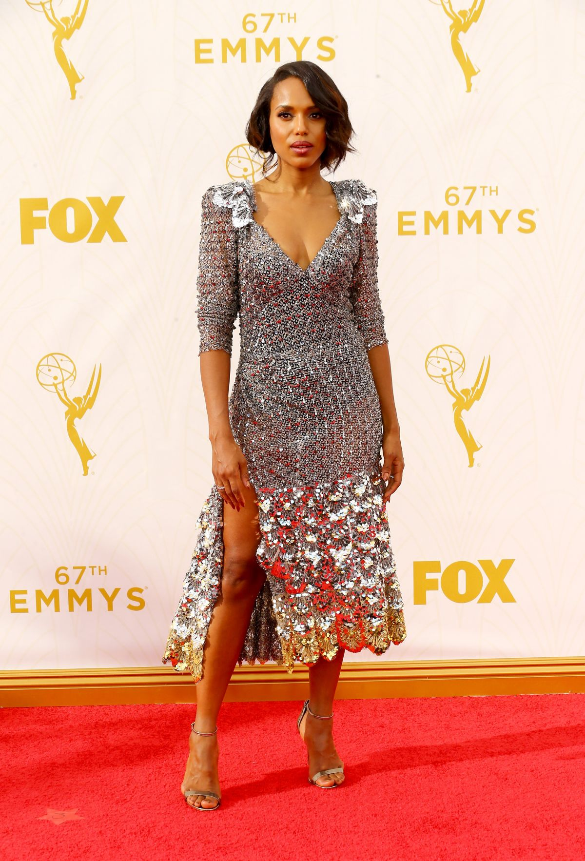 2015 Los Angeles Film Festival: KERRY WASHINGTON At 2015 Emmy Awards In Los Angeles 09/20