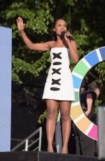 KERRY WASHINGTON at 2015 Global Citizen Festival in New York 09/26/2015