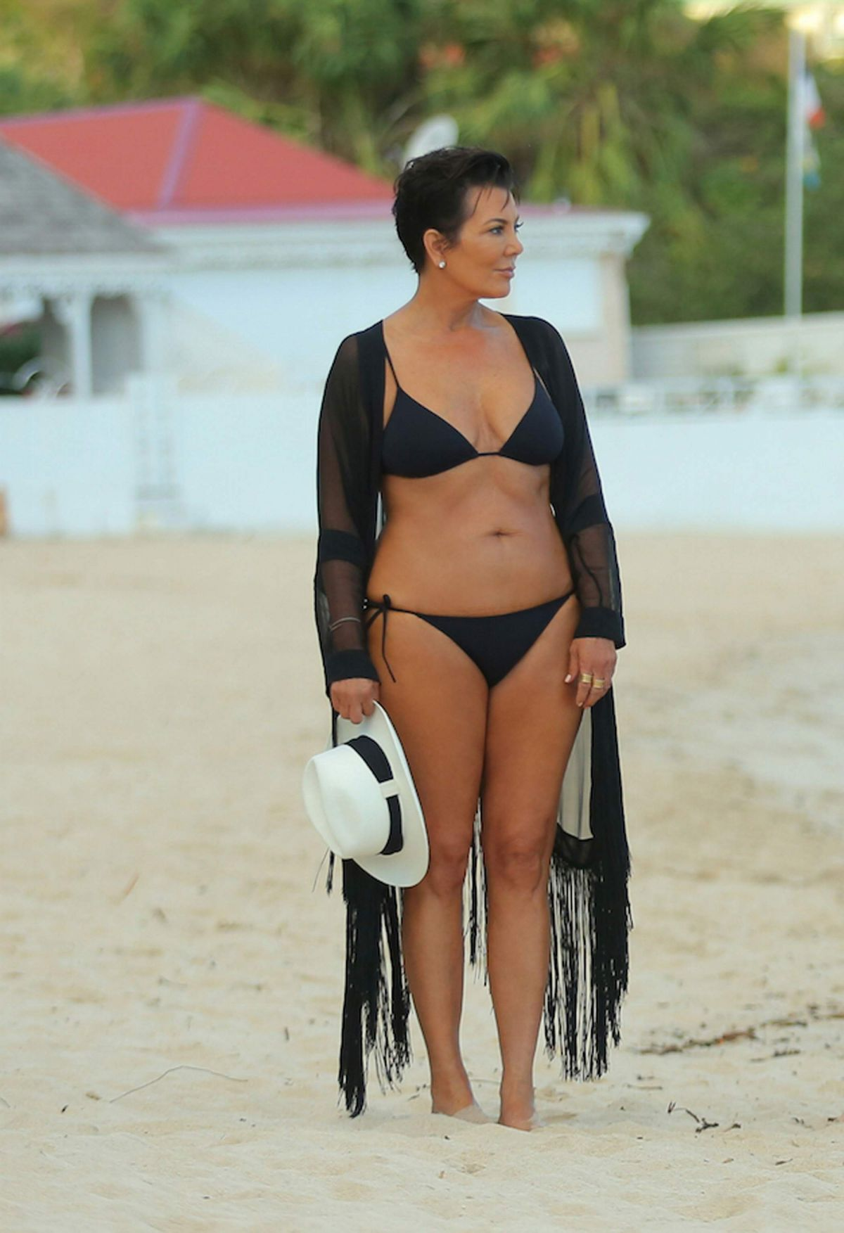 Kris kardashian bikini photos