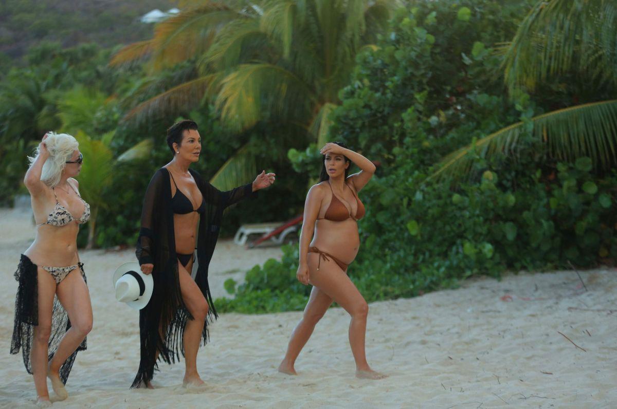 kardashian bikini photos Kris