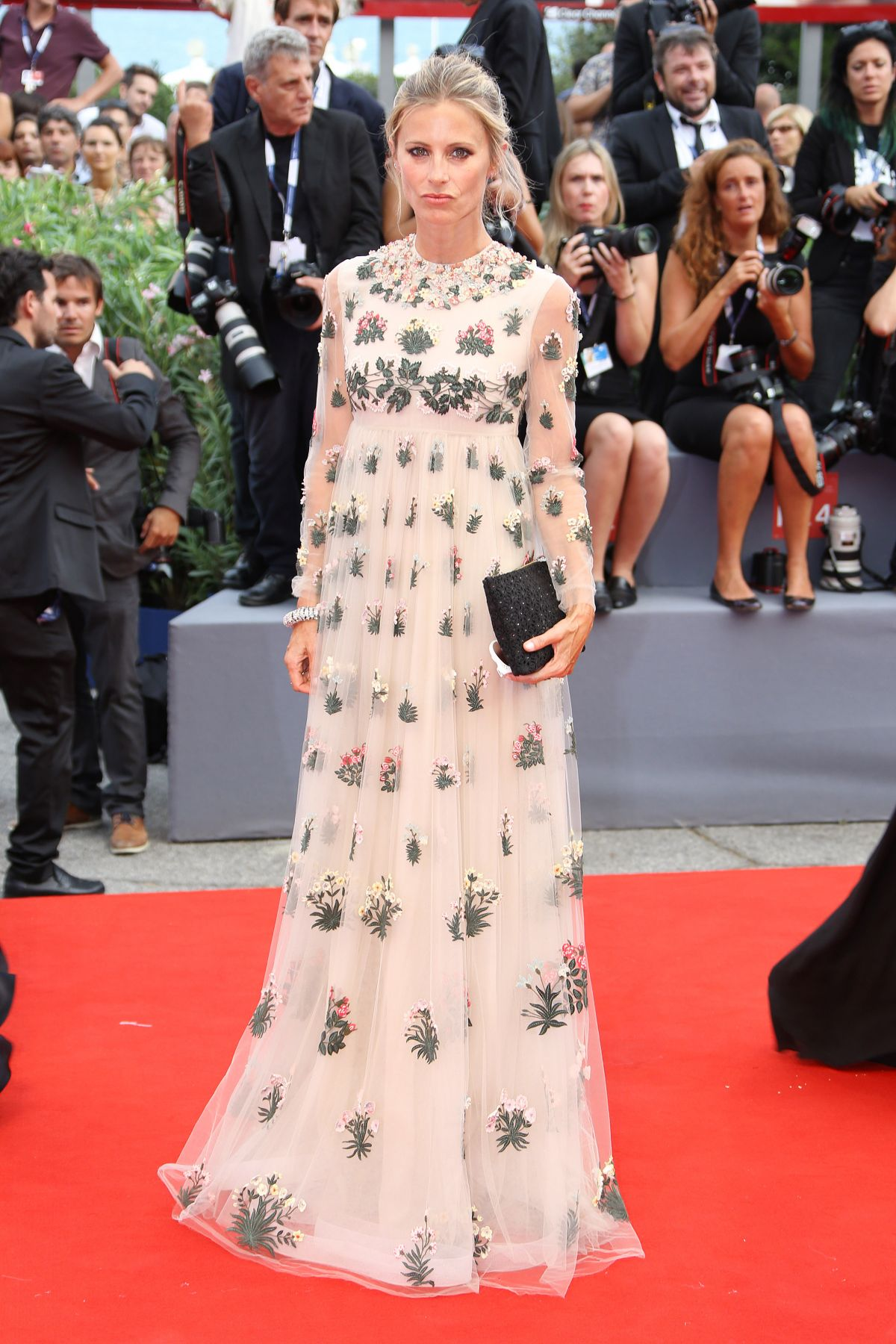 LAURA BAILEY at Everest Premiere and 72nd Venice Film Festival Opening Ceremony