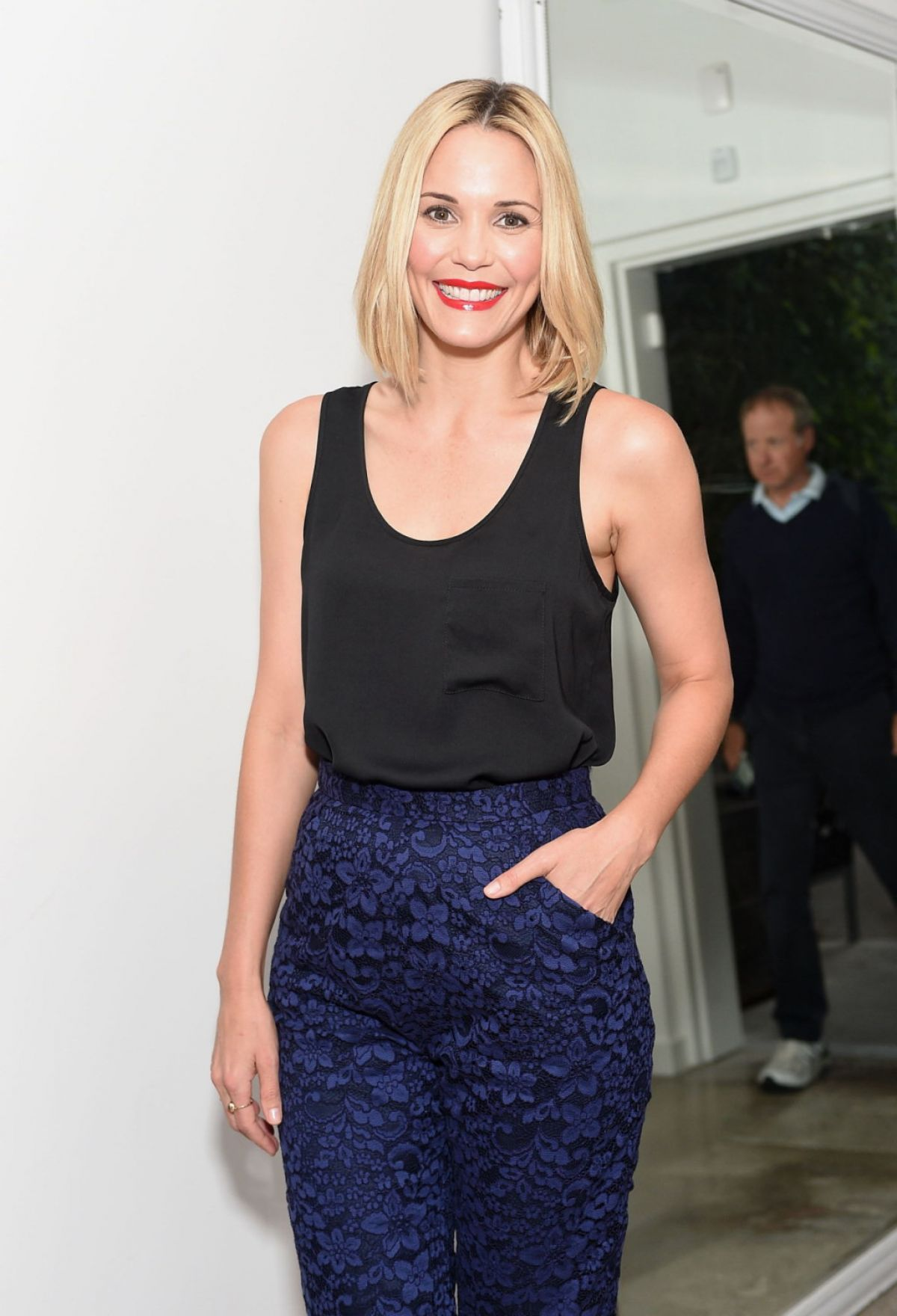 LESLIE BIBB at The A List 15th Anniversary Party in Beverly Hills