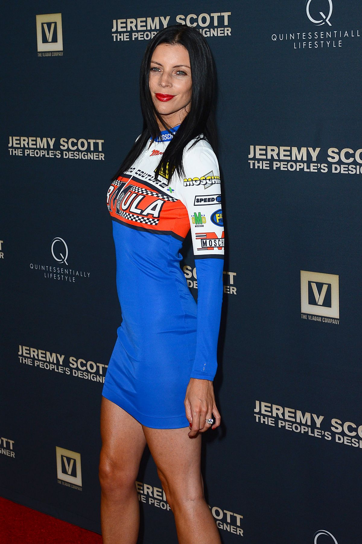 LIBERTY ROSS at Jeremy Scott: The People's Designer Premiere in Hollywood