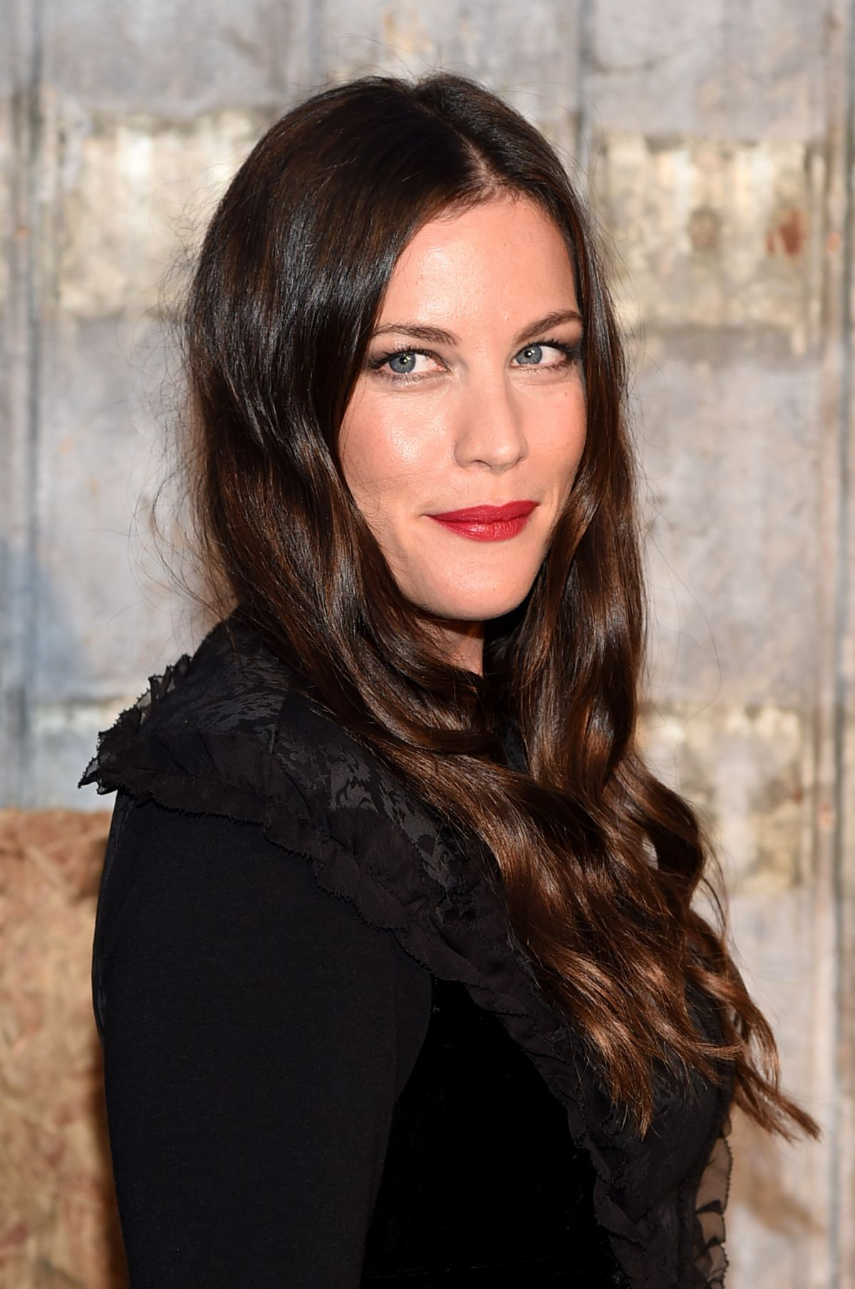 LIV TYLER at Givenchy Fashion Show in New York 09/11/2015 ... Liv Tyler