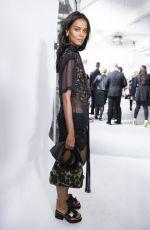 LIYA KEBEDE at Versace Fashion Show at Milan Fashion Week
