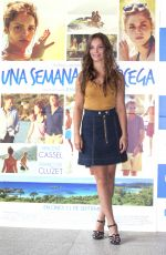 LOLA LE LANN at Una Semena En Corcega Photocall in Madrid 09/05/2015