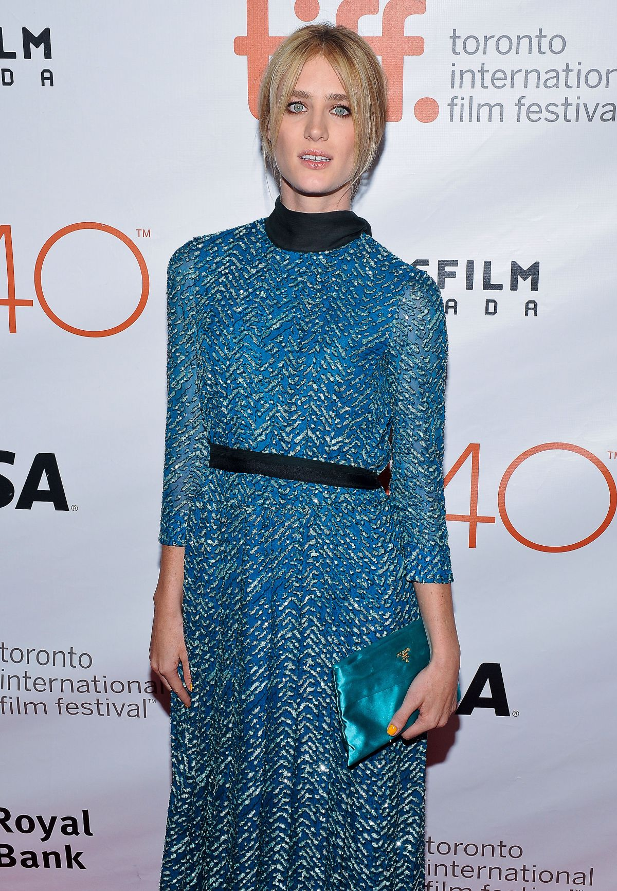 MACKENZIE DAVIS at The Martian Premiereat 2015 Toronto International Film festival 09/11/2015