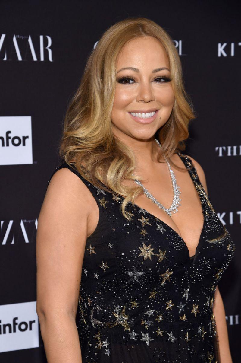 MARIAH CAREY at 2015 Harper's Bazaar Icons Event in New ... Mariah Carey