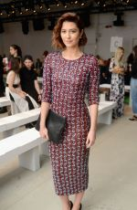 MARY ELIZABETH WINSTEAD at Penny Packham Fashion Show in New York 09/13/2015