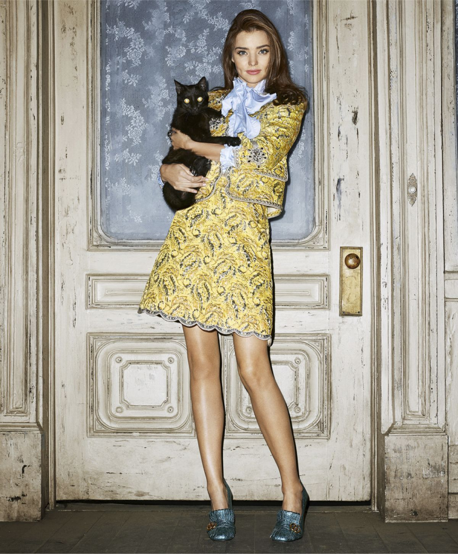 MIRANDA KERR in Harper's Bazaar Magazine, October 2015 ... миранда керр