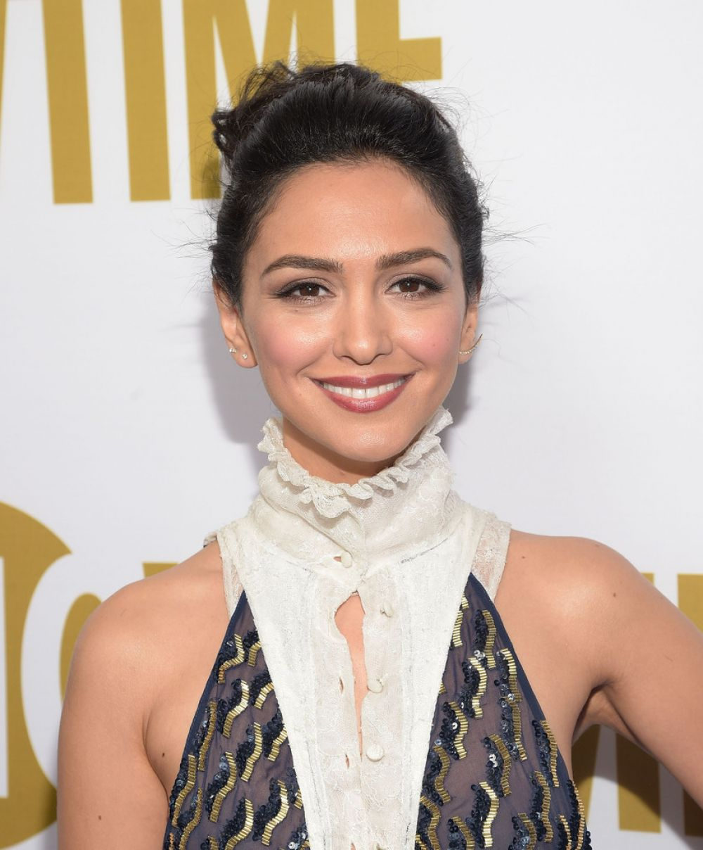 NAZANIN BONIADI at Showtime's 2015 Emmy Eve Party in West Hollywood 09/19/2015