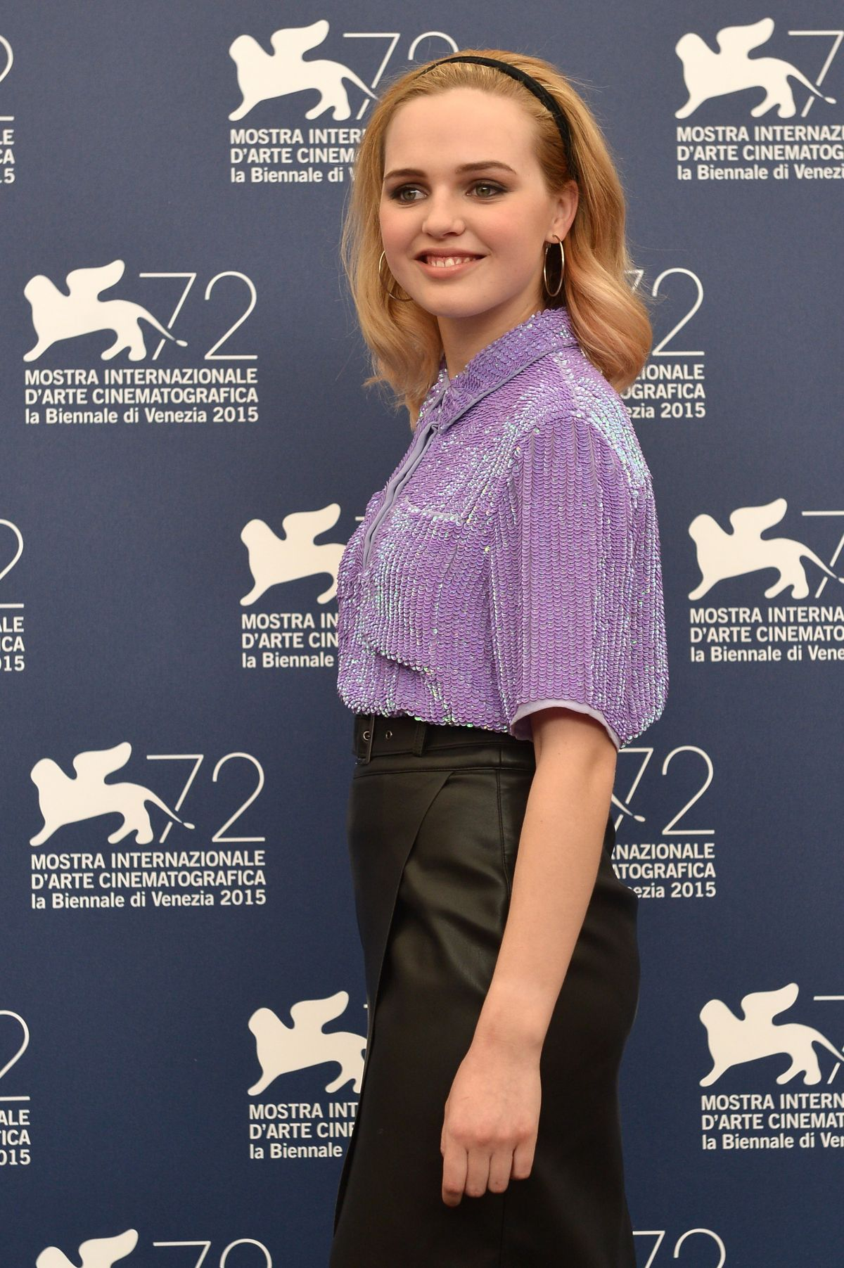ODESSA YOUNG at Looking for Grace Photocall at 72nd Venice Film Festival 09/03/2015