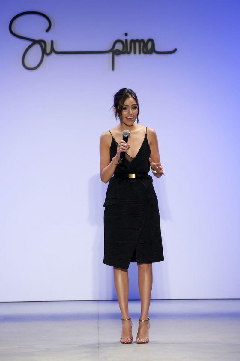 Olivia Culpo At Supima Design Competition Fashion Show At