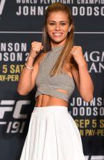 PAIGE VANZANT amd ALEX CHAMBERS at UFC 191 Ultimate Media Day 09/03/2015