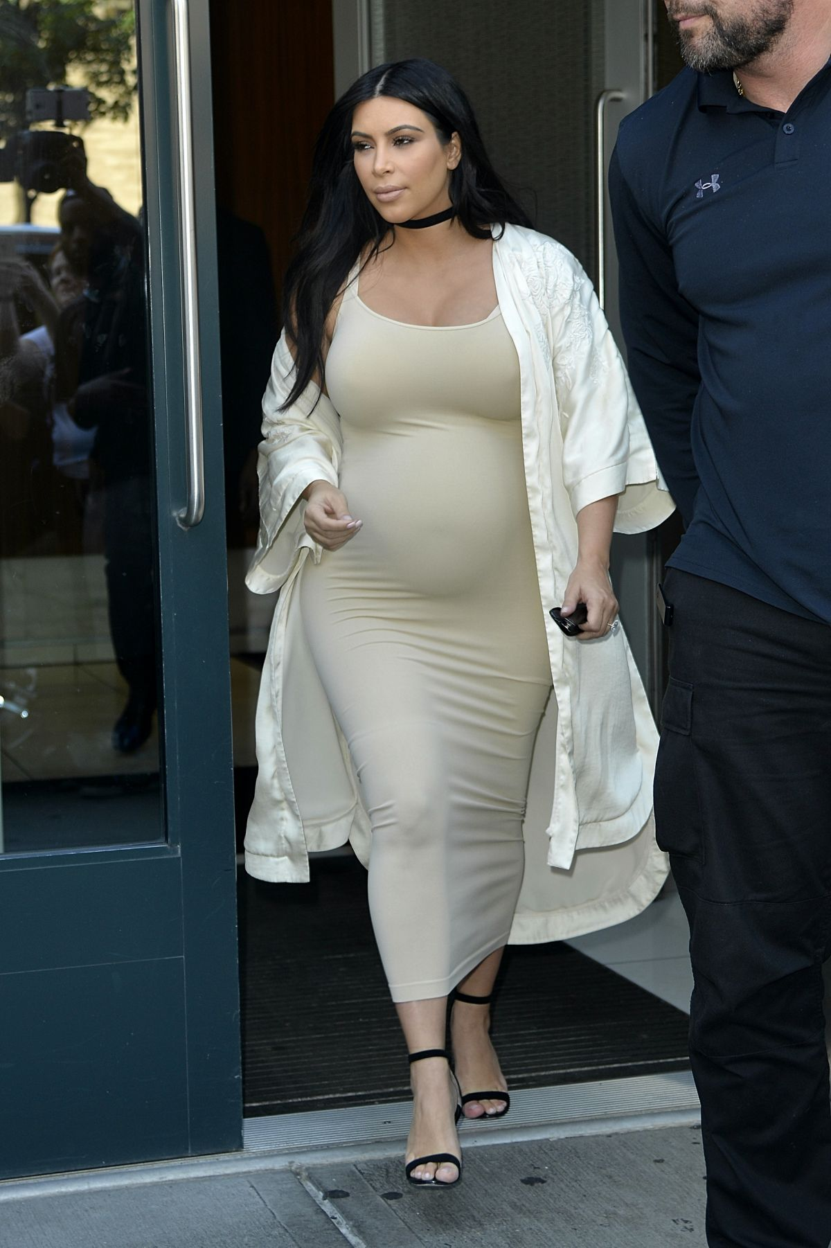 Pregnant Kylie Jenner Has A Baby Name Picked Out: Pregnant KIM KARDASHIAN Leaves Her Apartment In New York