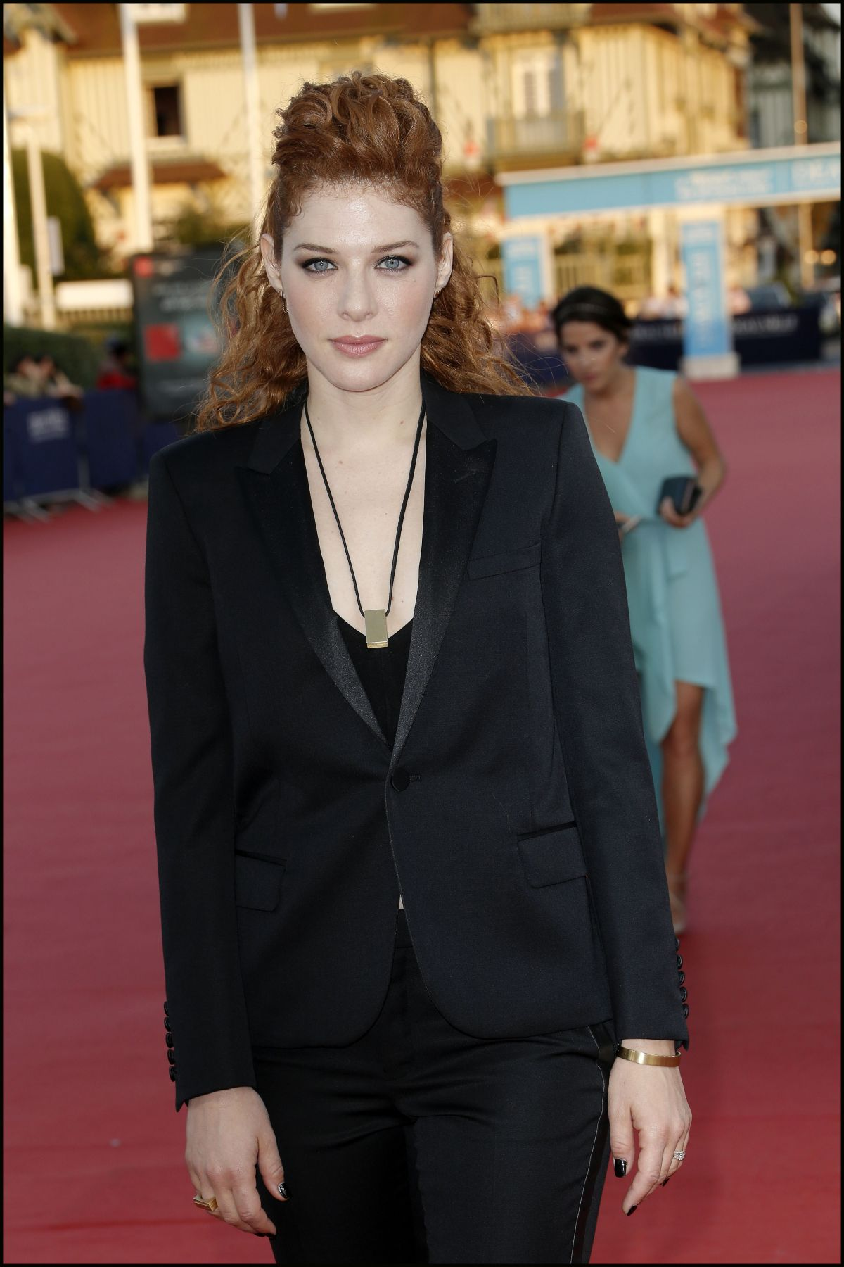 RACHELLE LEFEVRE at Ruth and Alex Premiere at 41st Deauville American Film Festival 09/09/2015